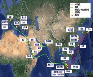 中国联通 SMW5 和 APG 海缆开通投用