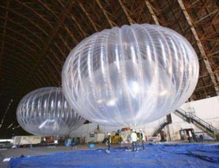 """飓风摧毁通信设施 谷歌热气球基站""""显神威"""""""