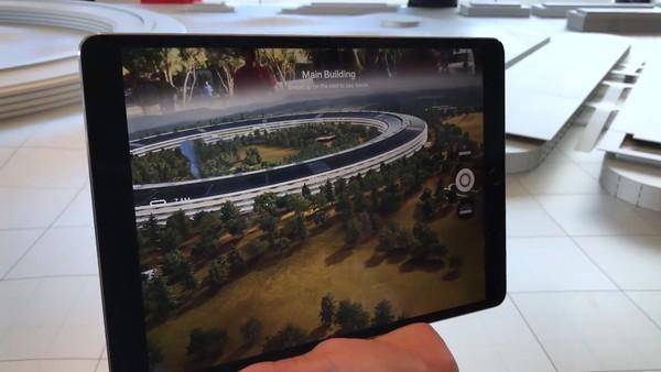 在ApplePark里 苹果用AR重现这件乔布斯最后作品