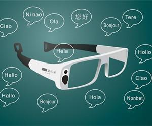上交大女生设计自动识词眼镜:能读陌生单词