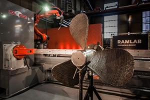 荷兰RAMLAB携手Autodesk展示首个3D打印船舶部件
