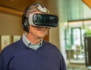 比尔·盖茨告诉你如何用VR抗击疾病