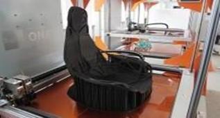 3D打印的自由座椅,完美阐释呼吸的概念