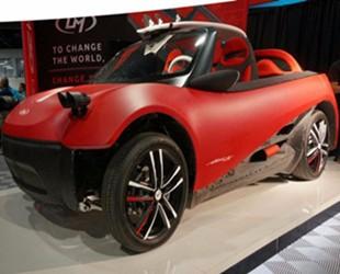 Local Motors推出全球首款量产3D打印电动汽车