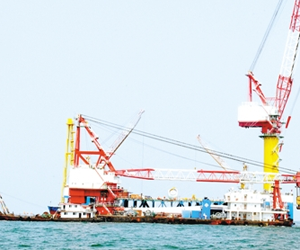 河北首个海上风电预计明年底并网发电