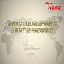 全球AMOLED面板市场技术分析及产能供需预测报告