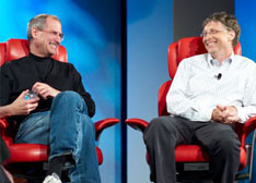 科技业揭秘:乔布斯为什么瞧不起比尔•盖茨?