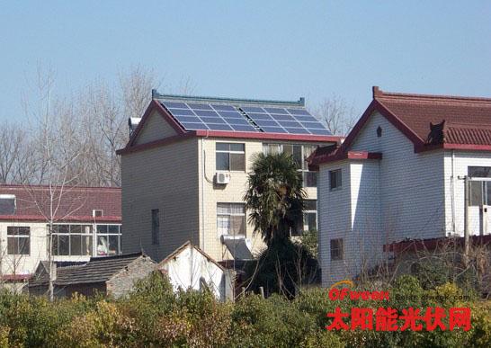 扬州仪征首个6kw家庭光伏电站成功并网