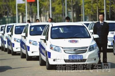 上海公务用车率先引入新能源汽车租赁模式
