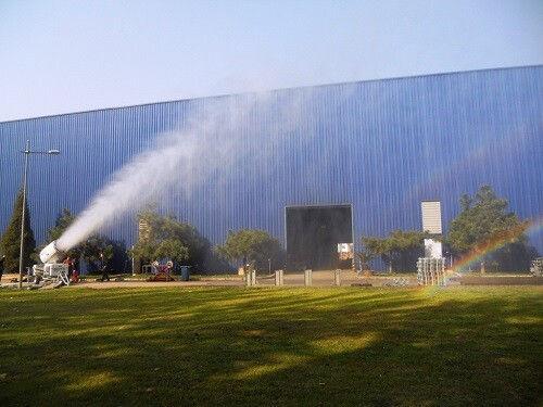 EMI智能喷雾系统亮相 为粉尘环保控制打头阵