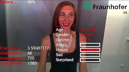 新款应用登陆谷歌眼镜 可识别对方情绪