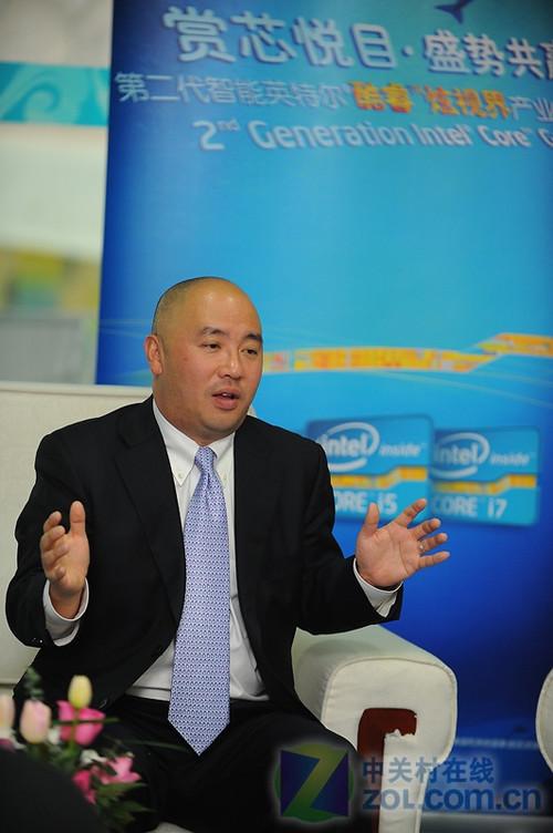 英特尔全球副总裁、中国区总裁杨叙先生接受媒体访问