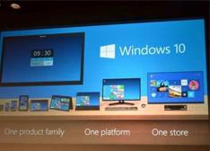 微软发布Windows 10 硬件需求不高与Win8相同