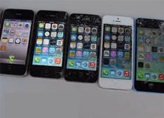 超过瘾!从iPhone2G至iPhone6 Plus终极抗摔测试【图+视频】