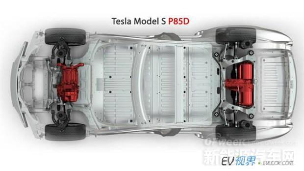 特斯拉MODEL S P85D将现身洛杉矶车展