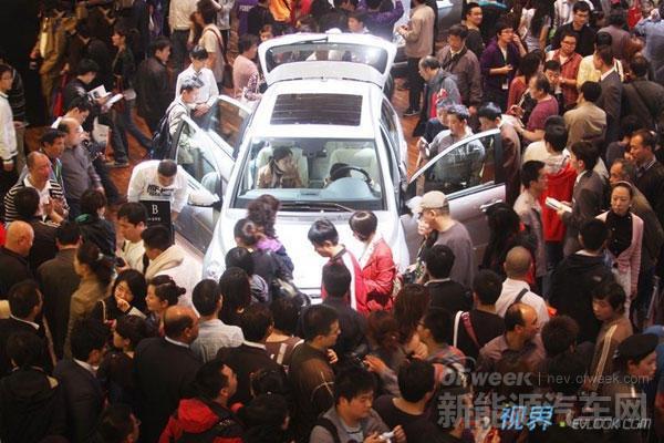 2014广州车展将展出60辆新能源汽车
