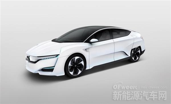 丰田的氢动力汽车FCV即将发布 本田氢动力汽车也亮相