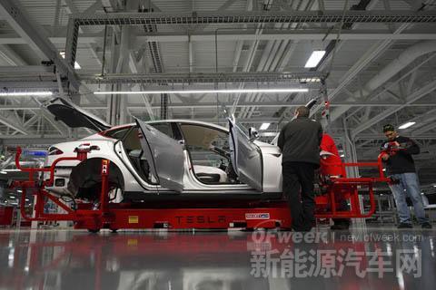特斯拉电动车年产量将达50万辆 已成豪车制造商的强劲对手