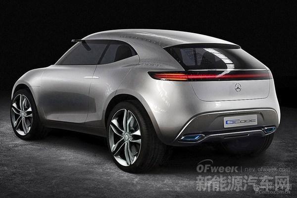 氢动力+电动双管齐下 绝杀奥迪Q1奔驰G-Code概念车将发布