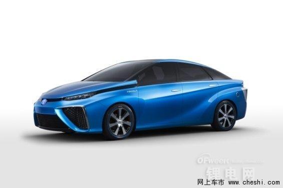 全面对决特斯拉比亚迪 丰田燃料电池车/纯电动车等多款概念车曝光