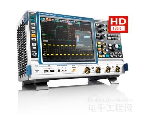 示波器asic电路中的数字滤波器能够提高分辨率和噪声