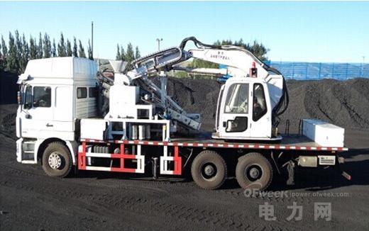 西安红宇公司成功研制车载移动式煤炭采样机