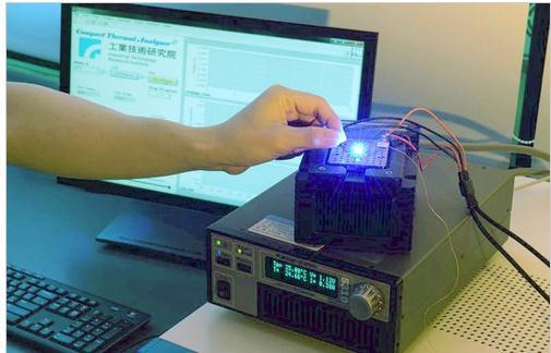 节省90%LED热测试时间的直插紧凑型热分析仪