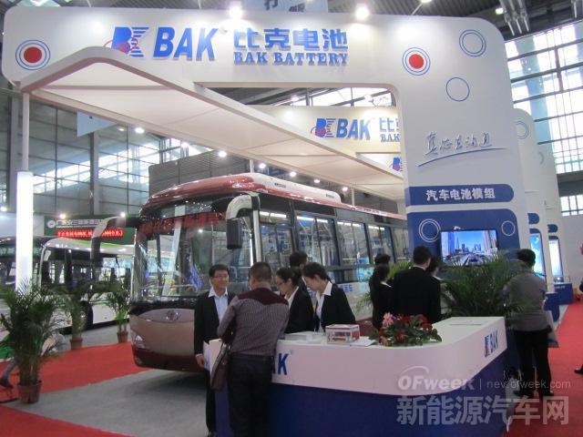 比克安源联合开发新能源客车首秀高交会
