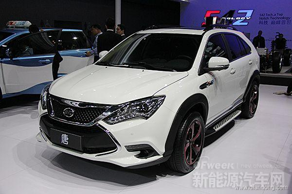 比亚迪唐细节图赏:秦之后最值得期待的新能源汽车