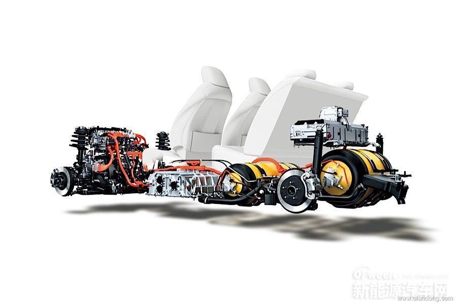 丰田Mirai结构图:详解燃料电池技术