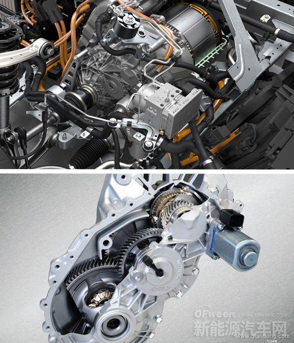电动汽车传动系统未来 多挡变速箱优势分析高清图片