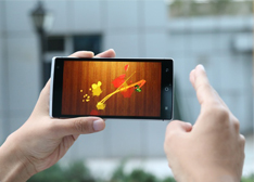 takee全息手机真机体验:魅族MX4 Pro/华为Mate7做不到!