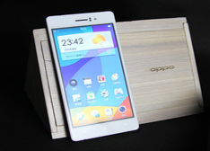 全球最薄手机 4.85mm机身64位八核4G网 OPPO R5 开箱+评测