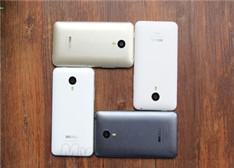 灰/白/金/银4版魅族MX4对比图赏 MX4 Pro 显逊了!
