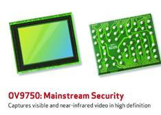 新款1/3英寸高清图像传感器,可捕捉可见光和近红外视频