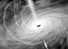 """黑洞不黑 粒子""""只进不出""""理论有望打破"""