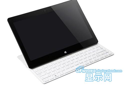 LG推出的搭配外接键盘的Win8.1平板电脑产品