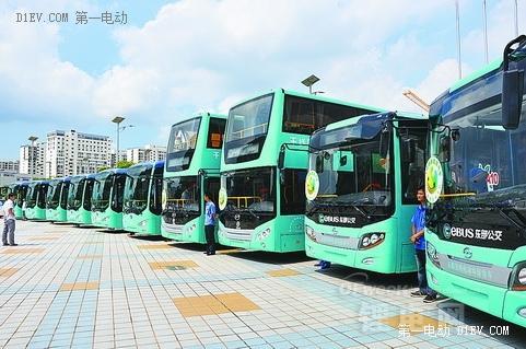 比亚迪/比克电池引领深圳新能源汽车发展