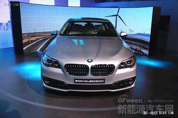 华晨宝马530Le插电式混动车明年1月15日上市