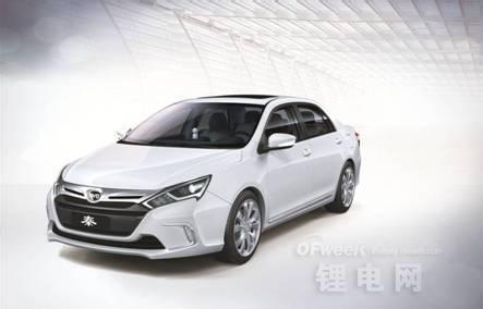 发动机与电动机采用并联结构,秦搭载的是1.