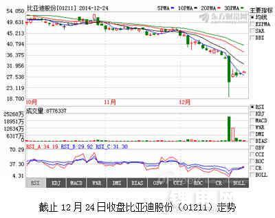 创始人王传福、夏佐全增持比亚迪股票 看好K9/秦/唐前景