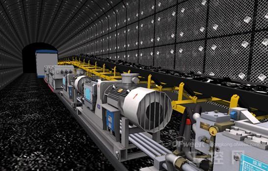 中产品设计师运用虚拟现实软件可以看到虚拟汽车车门及发动机罩的铰接