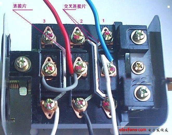 详解单相电机电容接线图