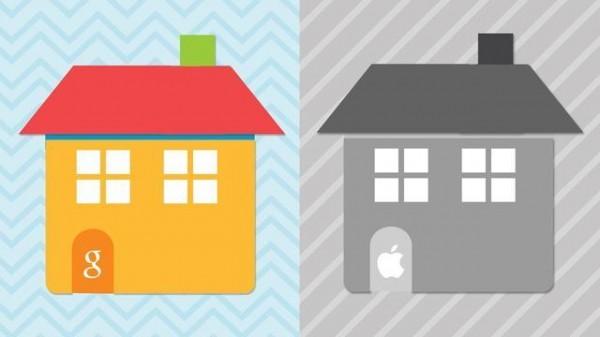 巨头对比大PK:谷歌、苹果智能屋哪家强?