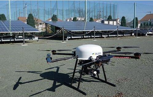 综合警备保障公司百万瓦级光伏电站用无人直升机