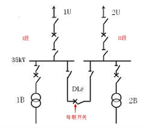 母线电路原理图
