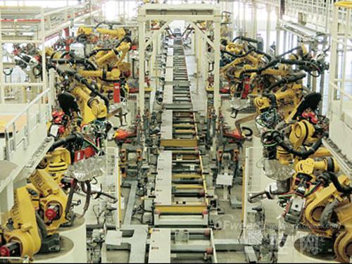 头占领中国的那些汽车工厂