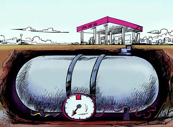 """地下藏污已到爆发期?加油站污染二十年""""寸草不生"""""""