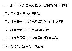 【解读】我国激光产业发展分析报告
