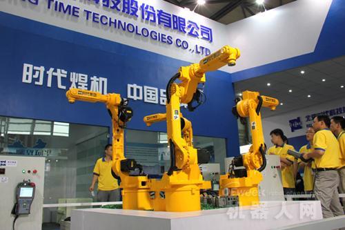 我国机器人行业十大重点企业排名分析图片